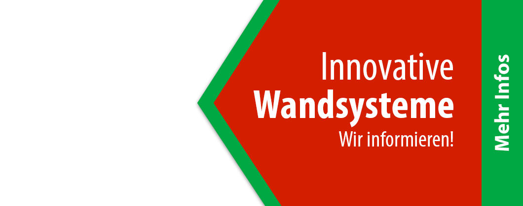 Innovative Wandsysteme